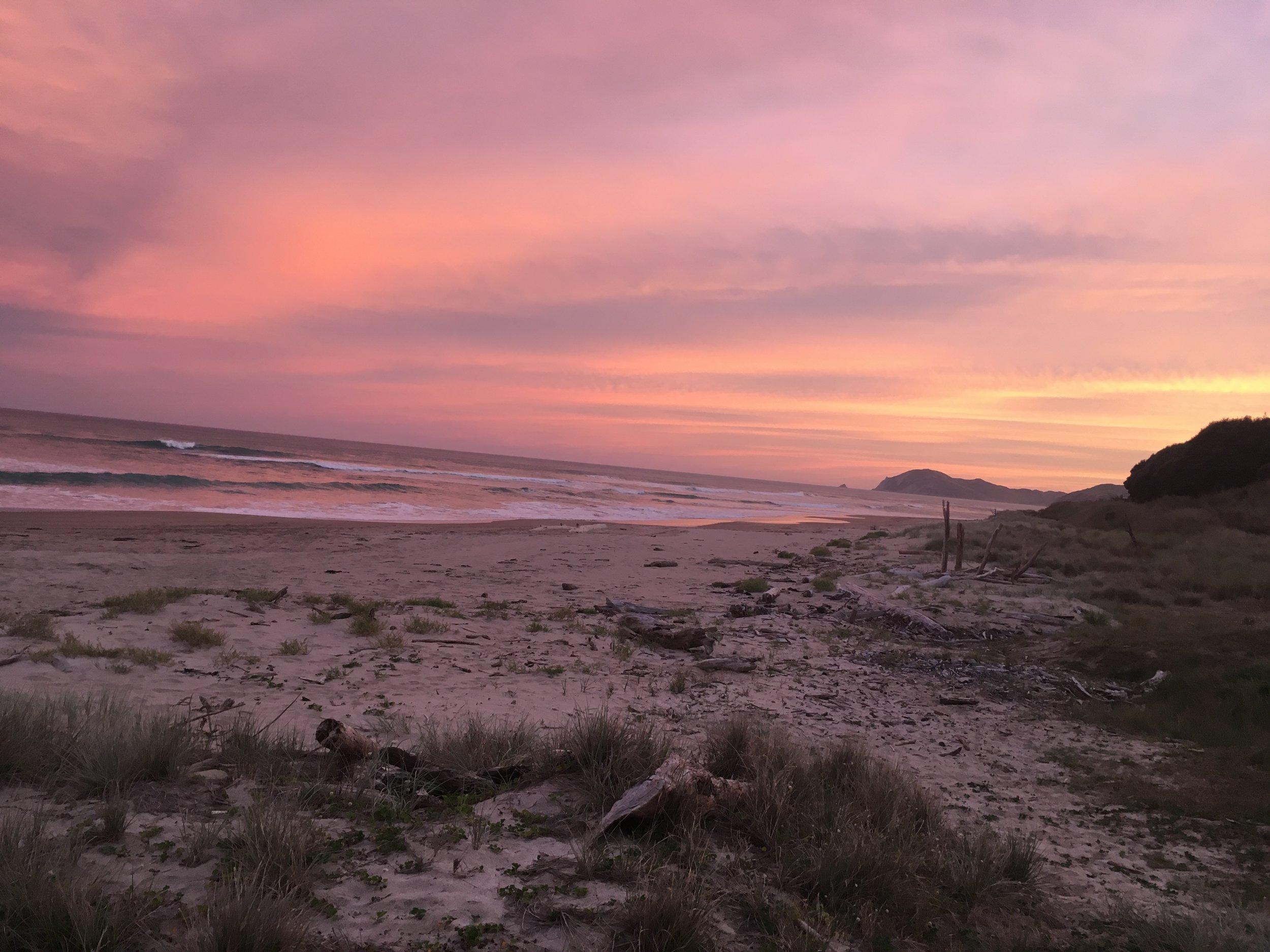 Sunset at Loisels Beach