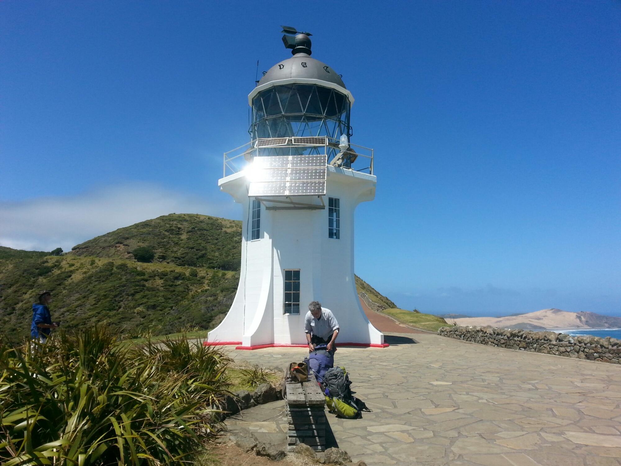 Cape Reinga, the starting point of the Te Araroa Trail