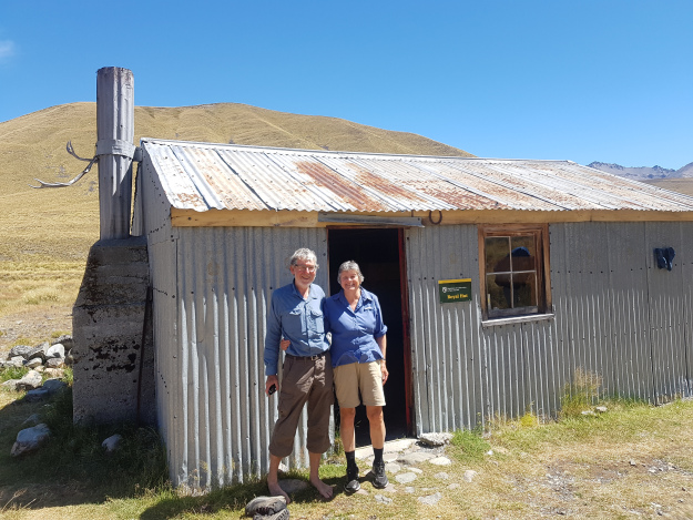 At one of the many huts on the South Island.