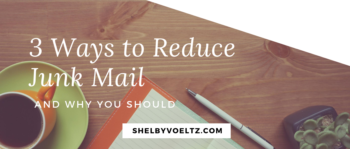 3 Ways to Reduce Junk Mail