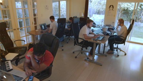 Hacker House - HACKER HOUSE is set within the high tech economy of global entrepreneurial culture. The film follows three ambitious, talented migrant entrepreneurs.