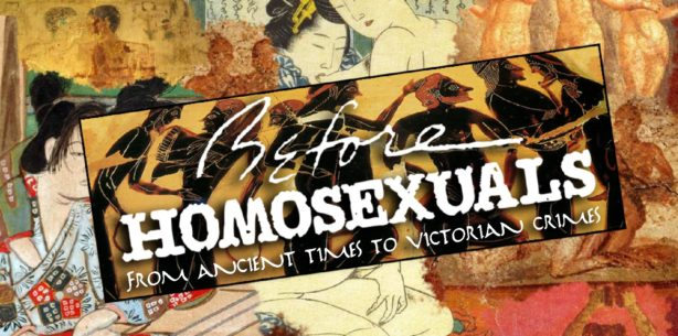 Before Homosexuals - Inspired by gay liberation, historians and artists join Emmy Award-winner John Scagliotti on this revel in recent erotic discoveries.