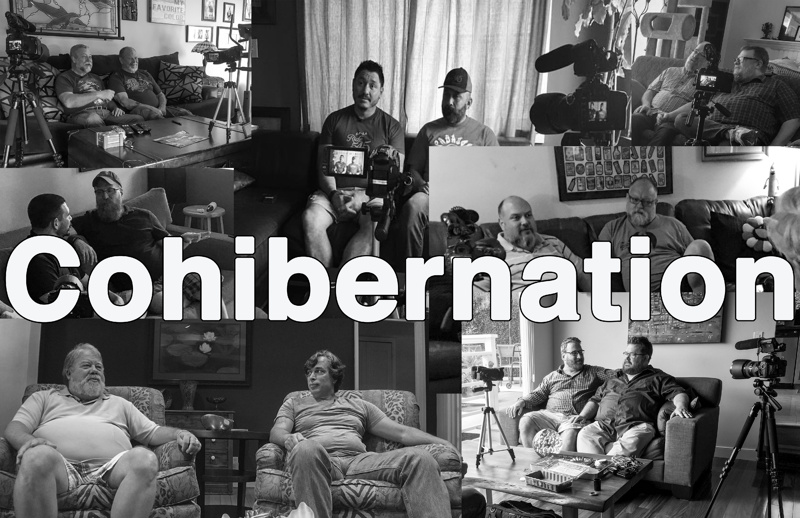 Cohibernation - A documentation of long term gay male bear relationships, concentrating on 6 couples of varying age, ethnicity and length of relationship from 10 – 26 years.