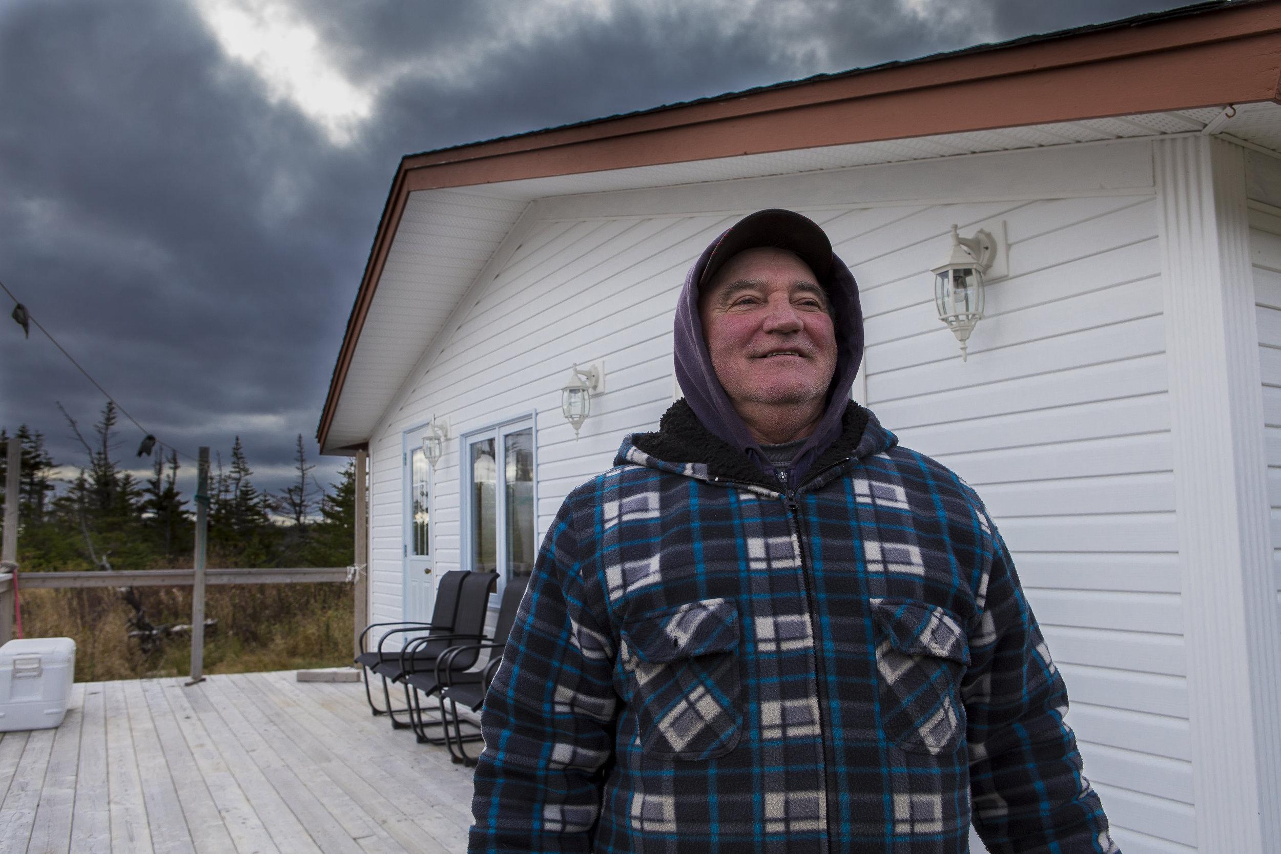 Bob in front of Cabin.jpg