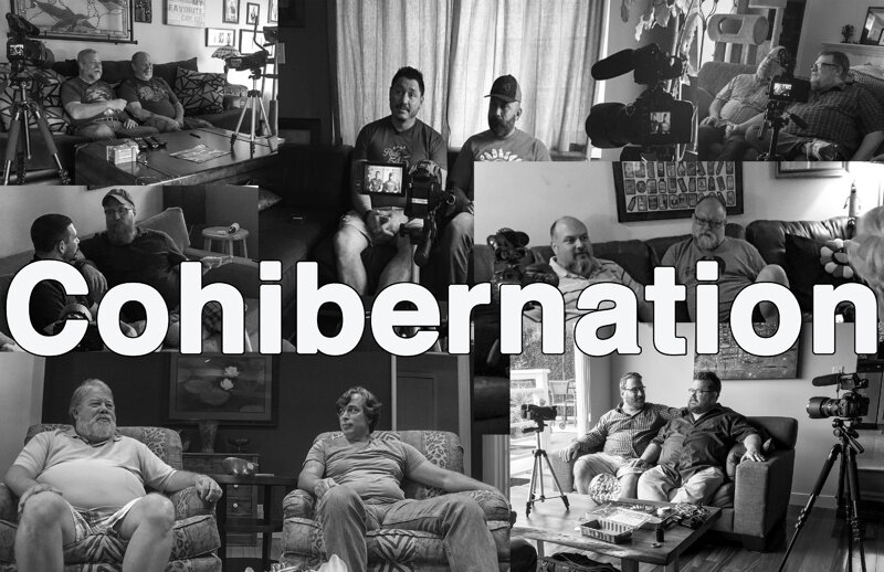 Cohibernation - COHIBERNATION is a documentation of long term gay male bear relationships, concentrating on 6 couples of varying age, ethnicity and length of relationship from 10 – 26 years. We've asked questions about what it's like to live as a male couple, what are the challenges and rewards, as well as what is unique to each couple.