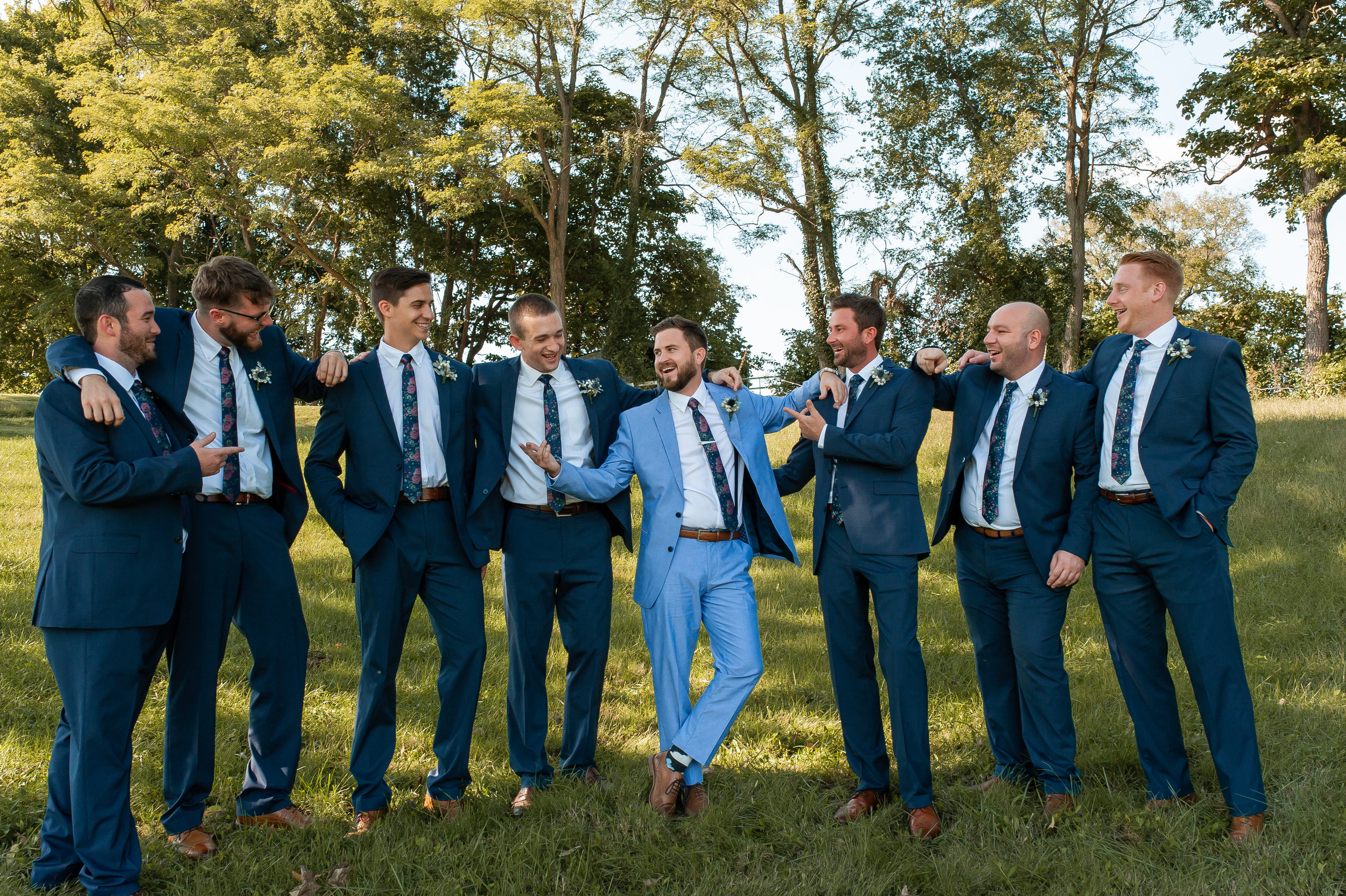 I did find time to photograph the guys before the ceremony as well!