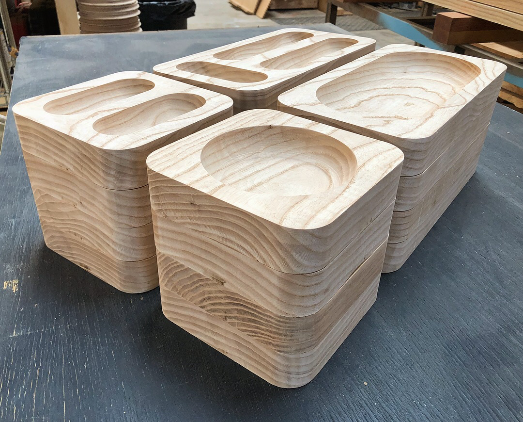 Ash Wood Trays