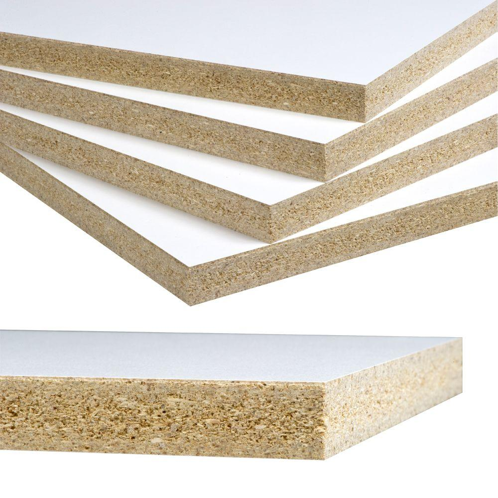 Melamine on Particle Board