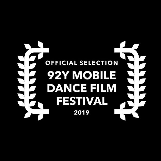 """What an honor! Our collaborative film """"Don't Ask Why"""" was screened yesterday as a part of the @mobiledancefilmfestival."""