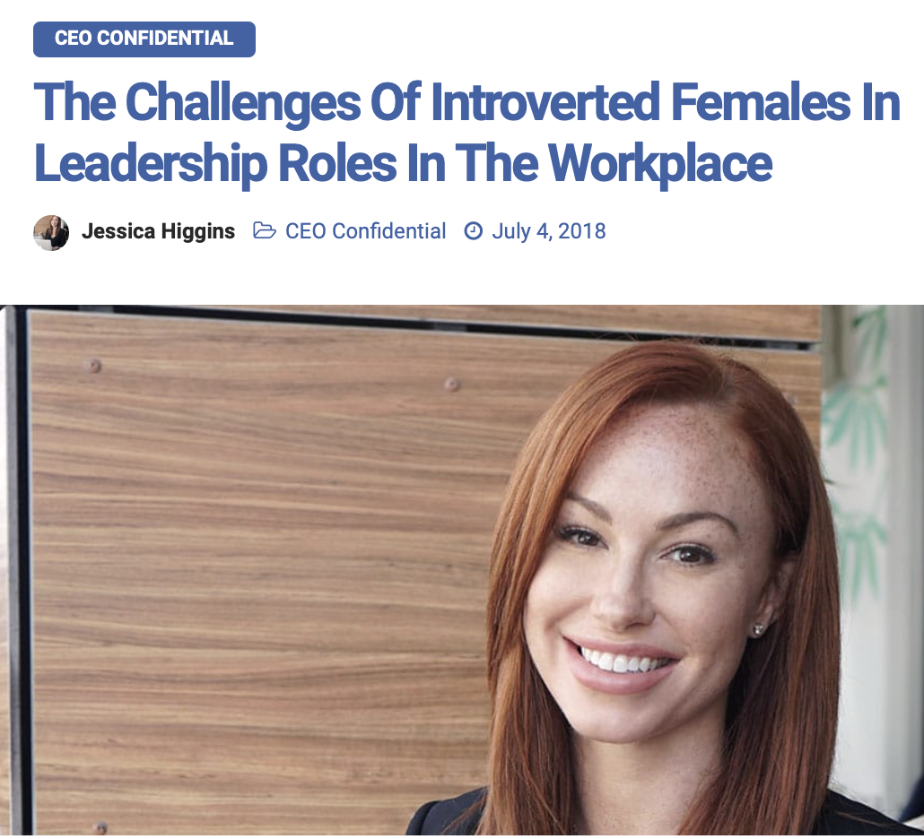 Read about Jessica's leadership tips in CEO World