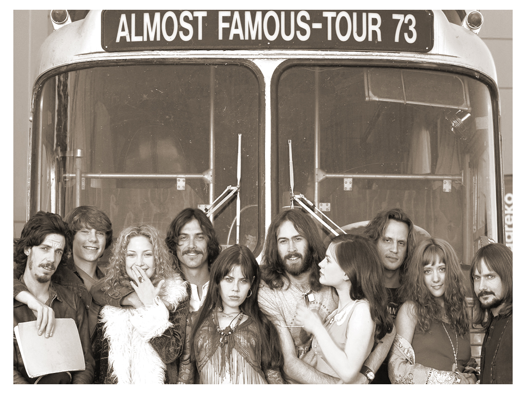 Cameron Crowe's 2000 movie Almost Famous -