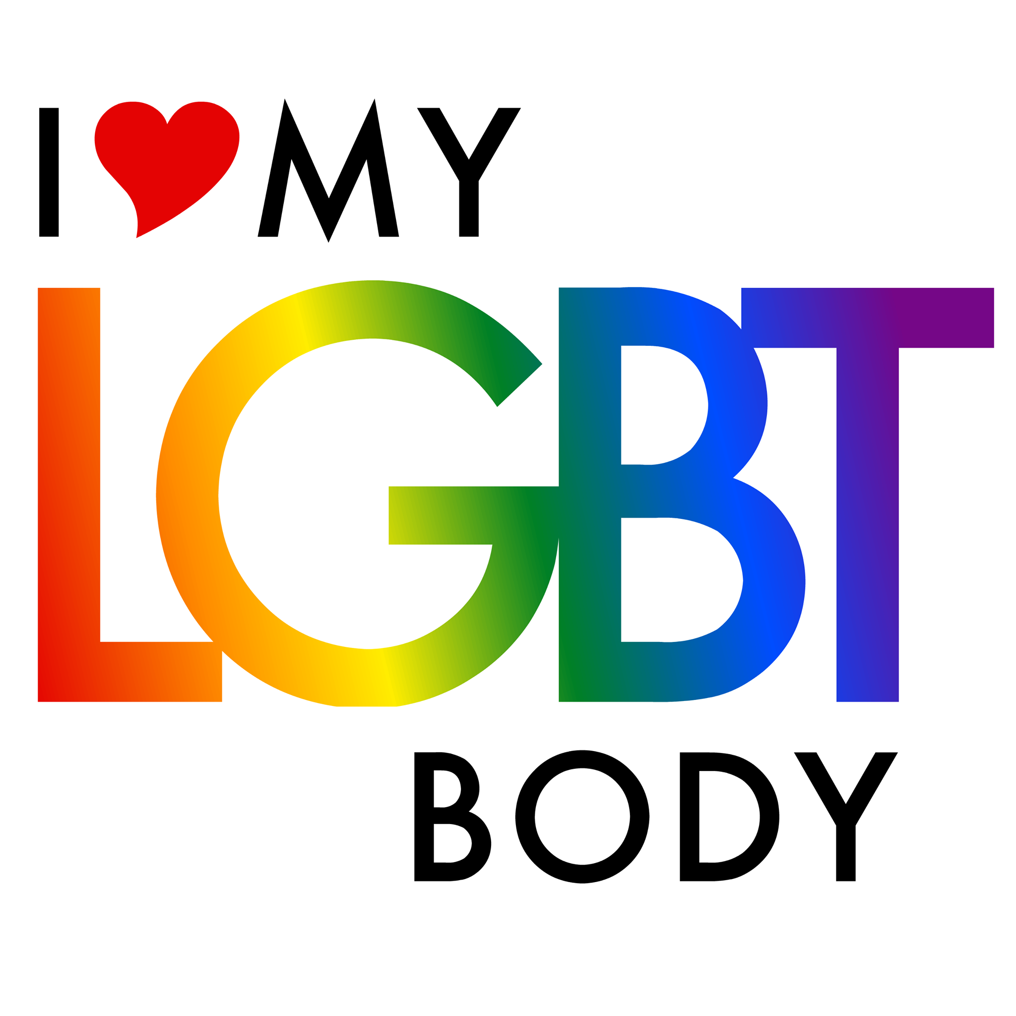 i love my LGBT body