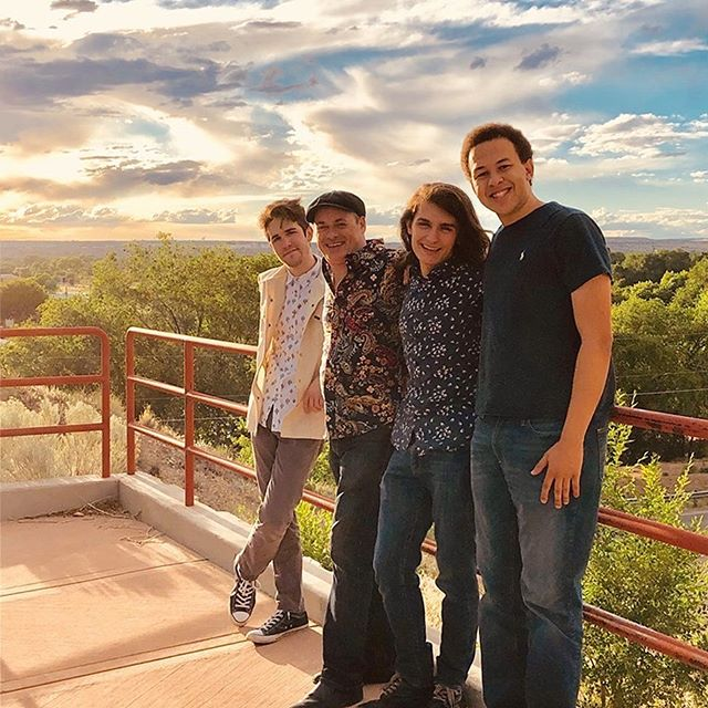 DAY 2 of the tour…Albuquerque New Mexico. Thank you, all you Rock 'n' Rollers for coming through last night! We had a great time at @varawine We were back on the road early this morning as DAY 3 is taking us to Fountain Hills, Arizona (right near Phoenix). We play @europizzacafe tonight, along with Scott Hallock starting at 5PM. Please tell your friends in the area to come check us out! The support is much appreciated!  #fountainhillsaz #phoenix #livemusic #bandlife #tour #dixon #fender #nord #epiphone #yahama