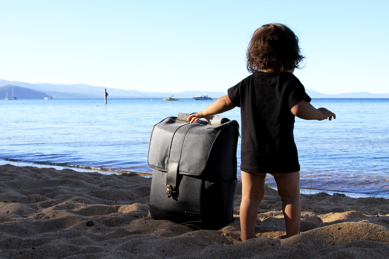 Beach Baby Backpack