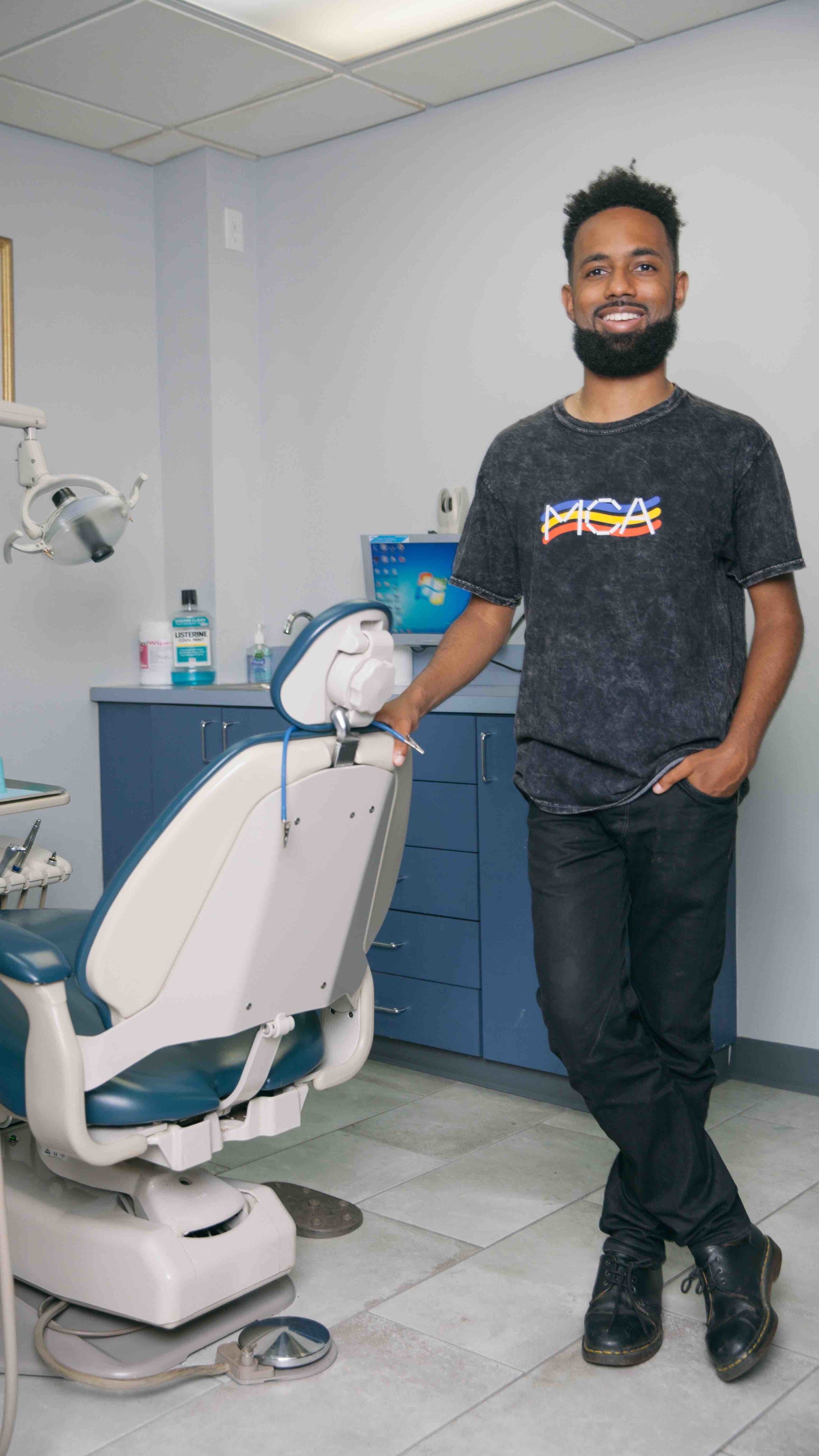 Striver & Co-Founder of BREAUX Capital , Brian Williams, at Care Dental P.C.