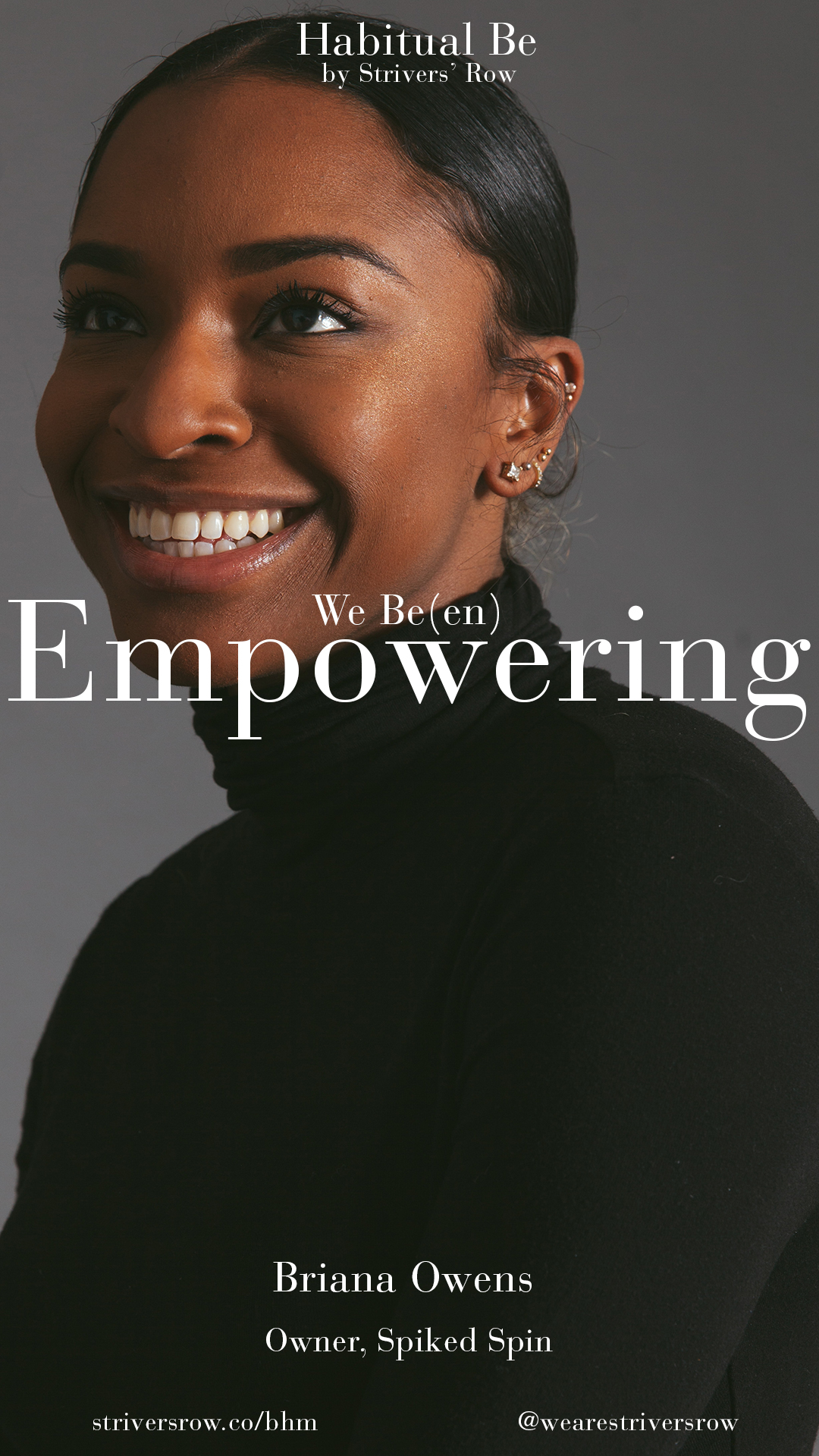 """""""My hustle is 100% from my mother. Having me at 20 years old, I witnessed all her adversity. I watched her journey through her career. She taught me about hard work and the importance of having strong ethics. She's all about no excuses and having full belief in your capability. She's always telling me, """"Anything you want to do, you need to do. And if you haven't done it yet, it's because you don't want to."""" My grind is all about getting people to realize their greatest potential and live that out daily. I want to not only remind but challenge people to find their 100%."""""""