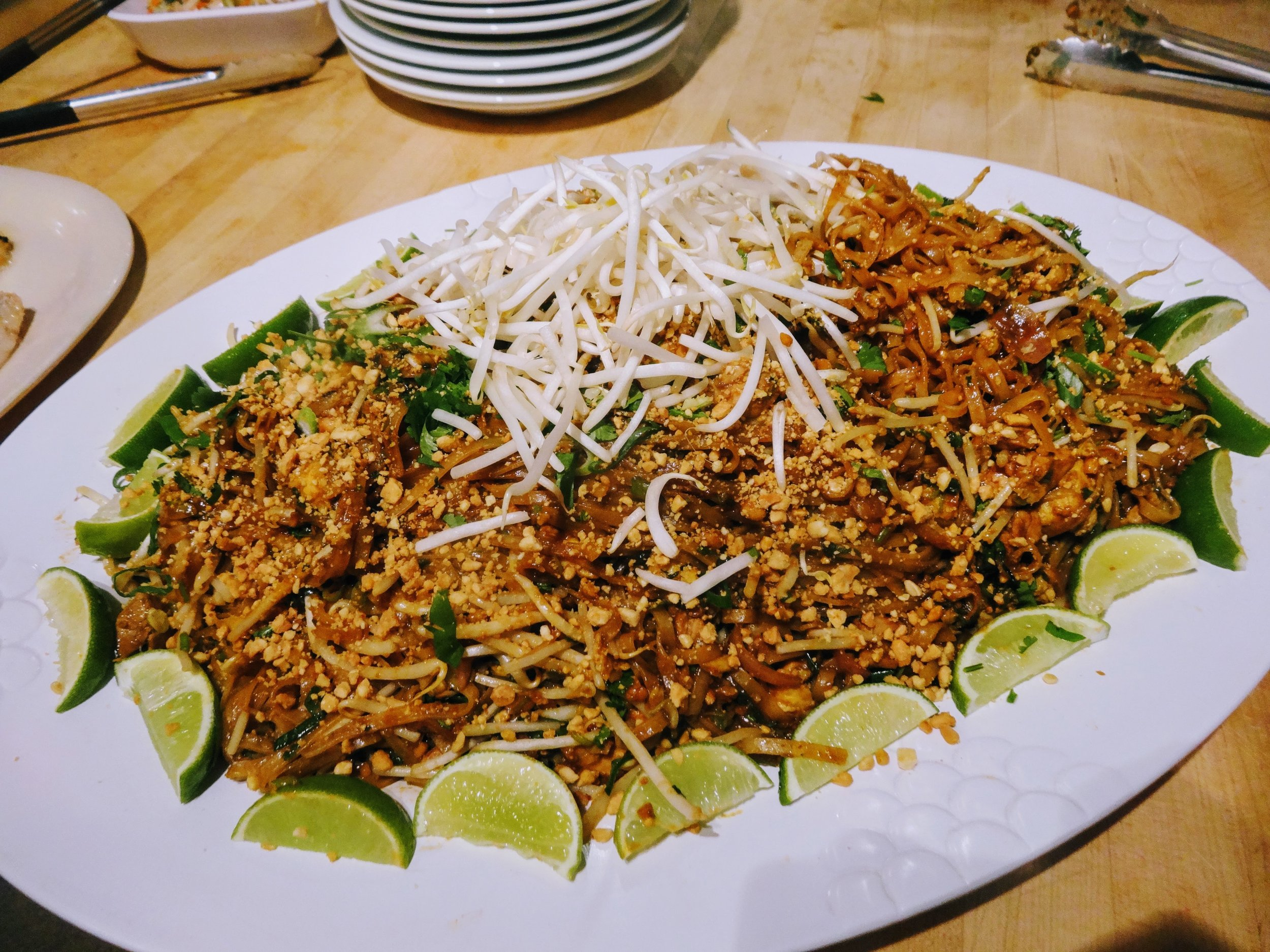 Pad Thai: Click on the picture for recipe