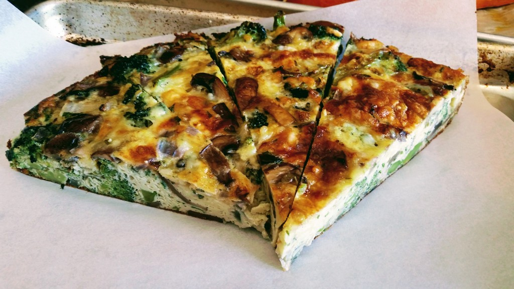 - Asparagus and Mushroom Frittata. Easy and healthy recipe here