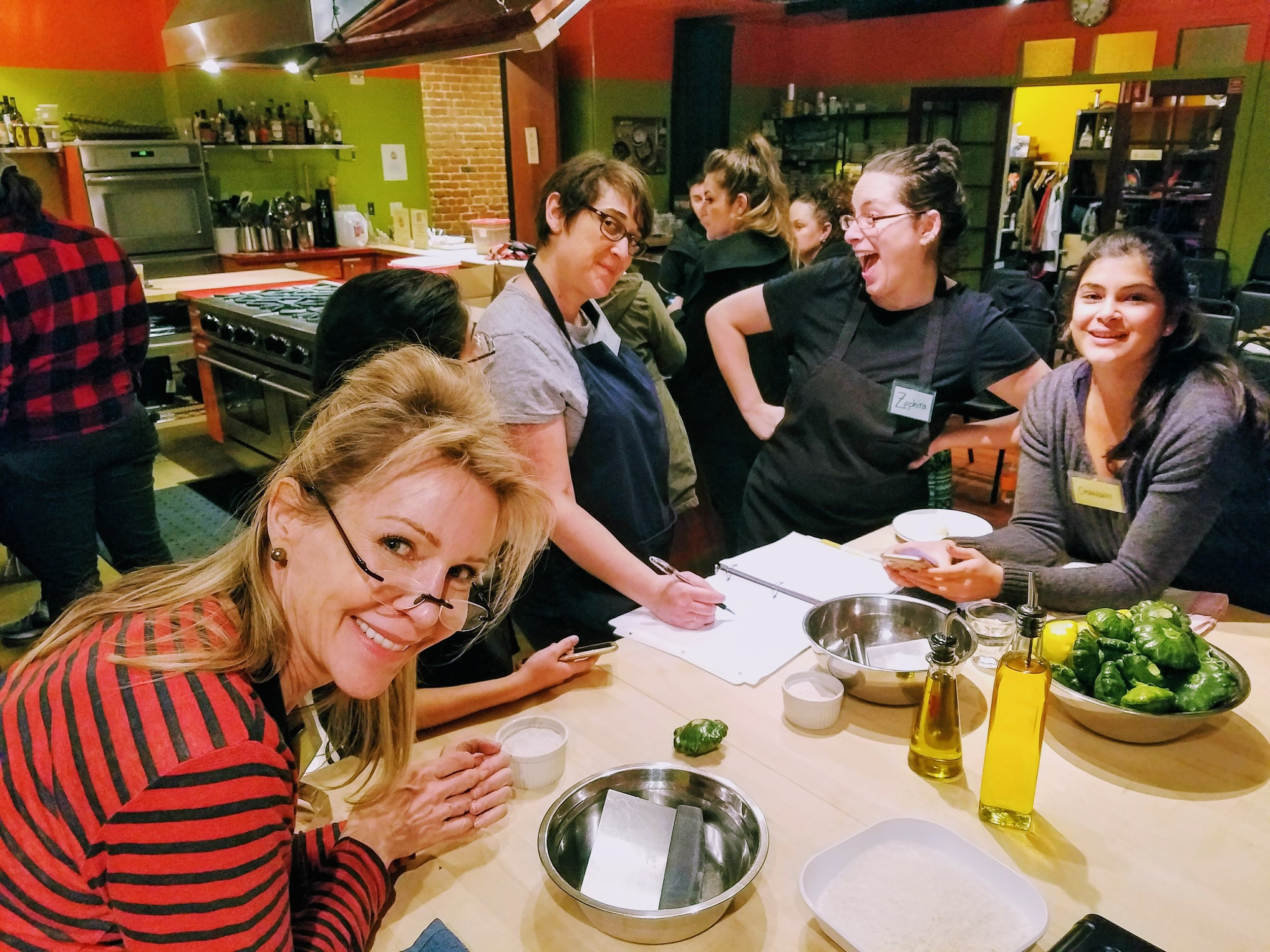 Kitchen on Fire | Private Cooking Parties | Berkeley, San ...