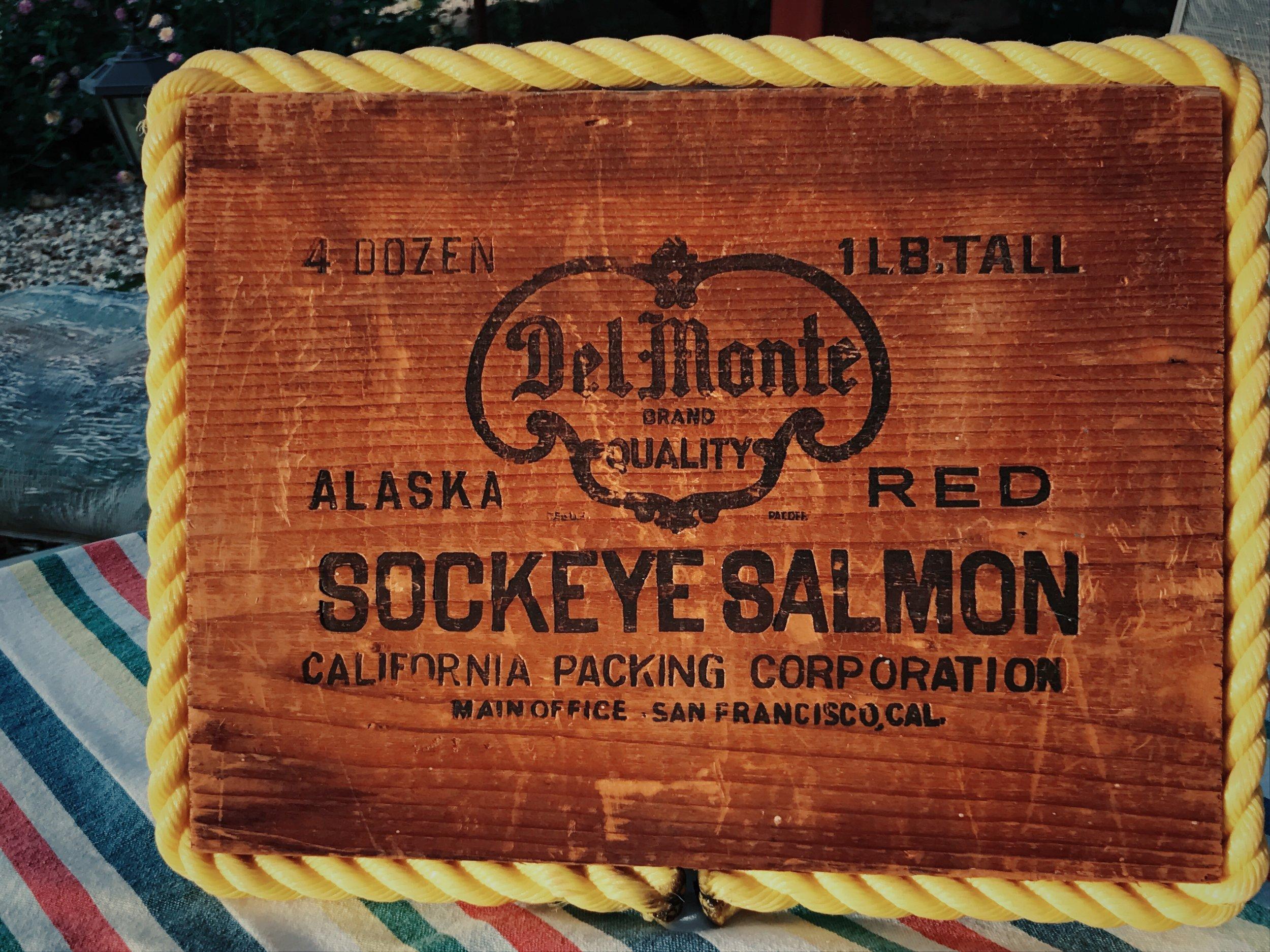 Salmon Box Top