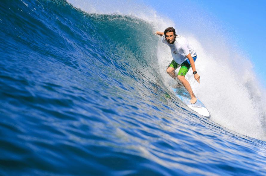 Surfing in Costa Rica Jungle's Edge