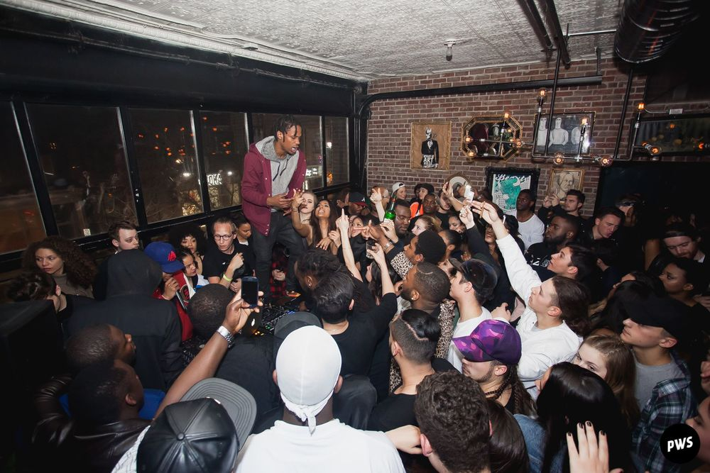 Travis Scott After Party at Apt 200 Montreal in 2015