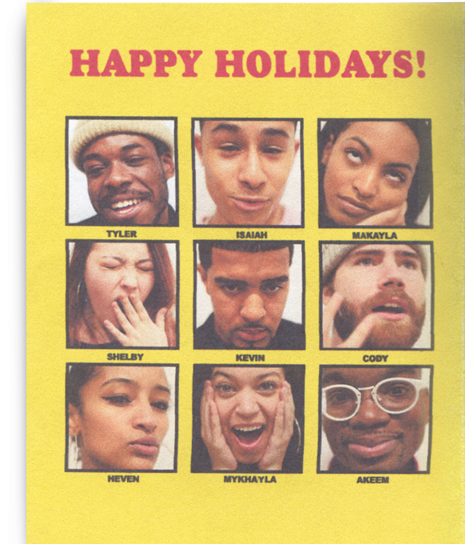 2017 Holiday Guide Featuring Bodega Employees