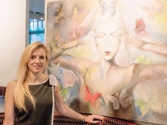 RUTA LAUKIEN - Founder of Liquid Art House