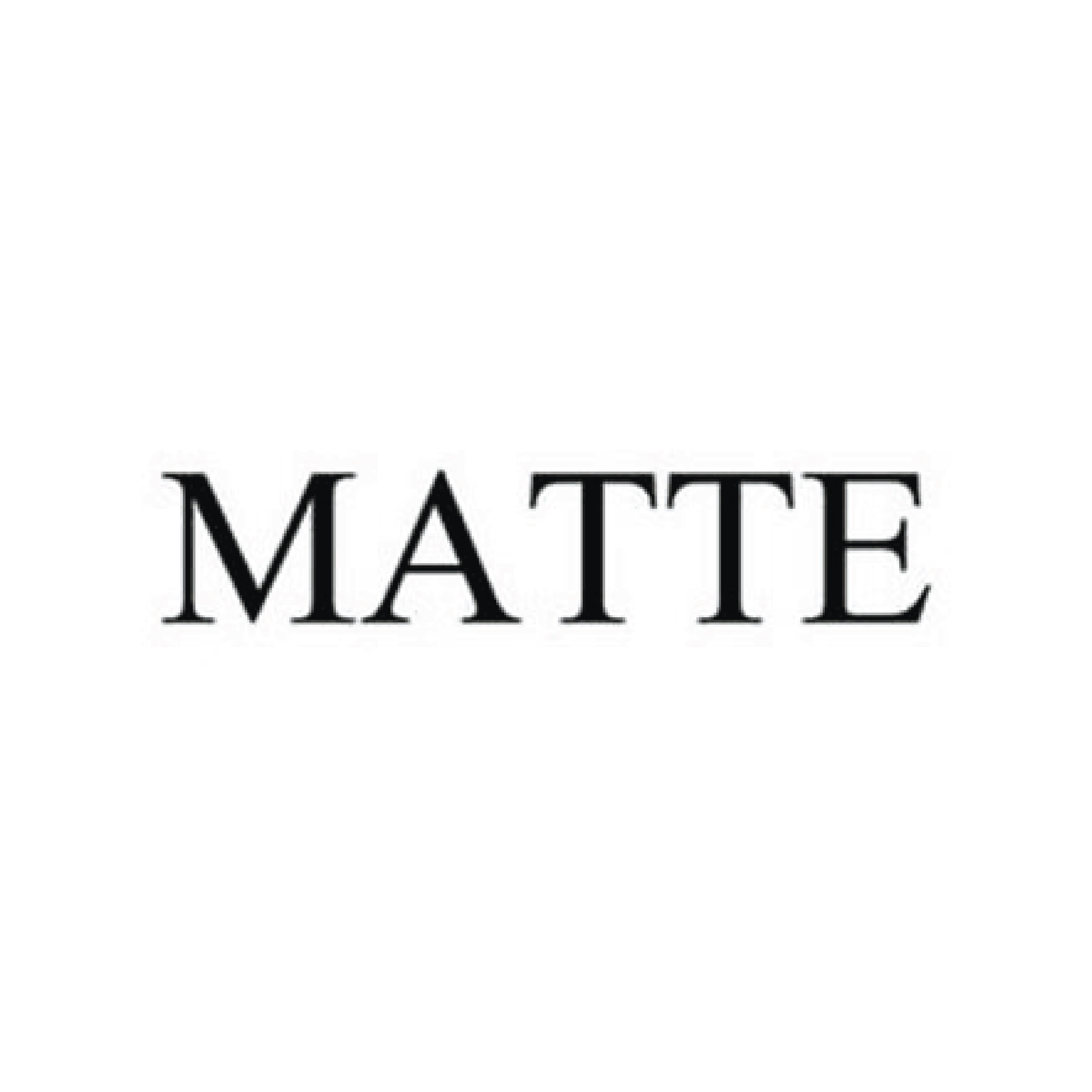A Revolution of MATTEs Name and Logo
