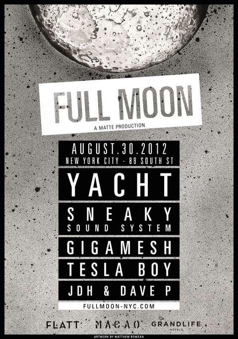 Full Moon in 2012