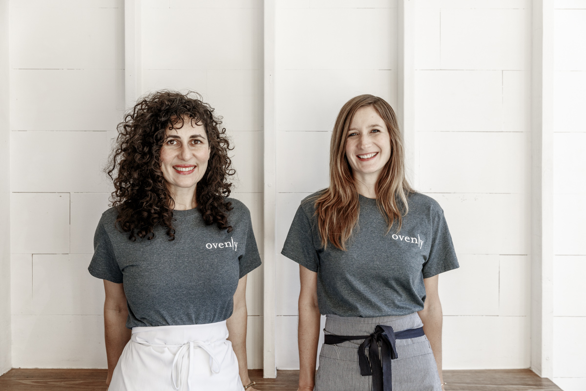 Ovenly Co-Founders Agatha Kulaga (Right) and Erin Patinkin  (Photo by Dustin Cohen)
