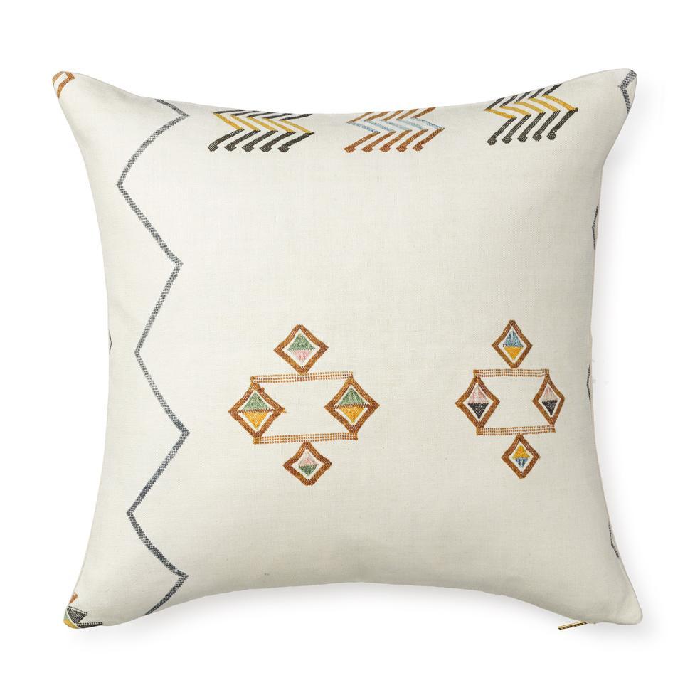 Cactus Skill Ecru Printed Pillow