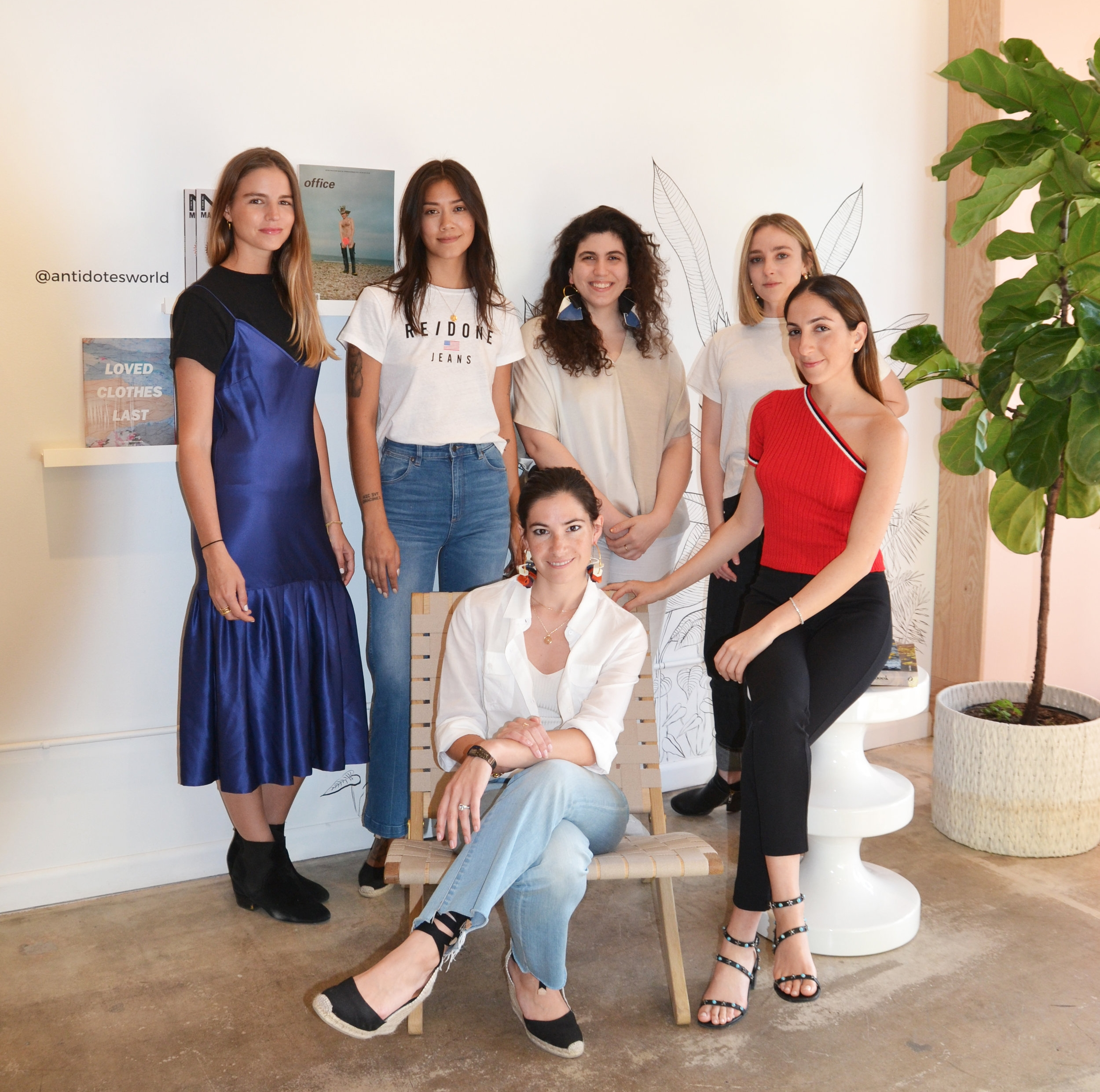 ANTIDOTE Founder Sophie Zembra and Her Team