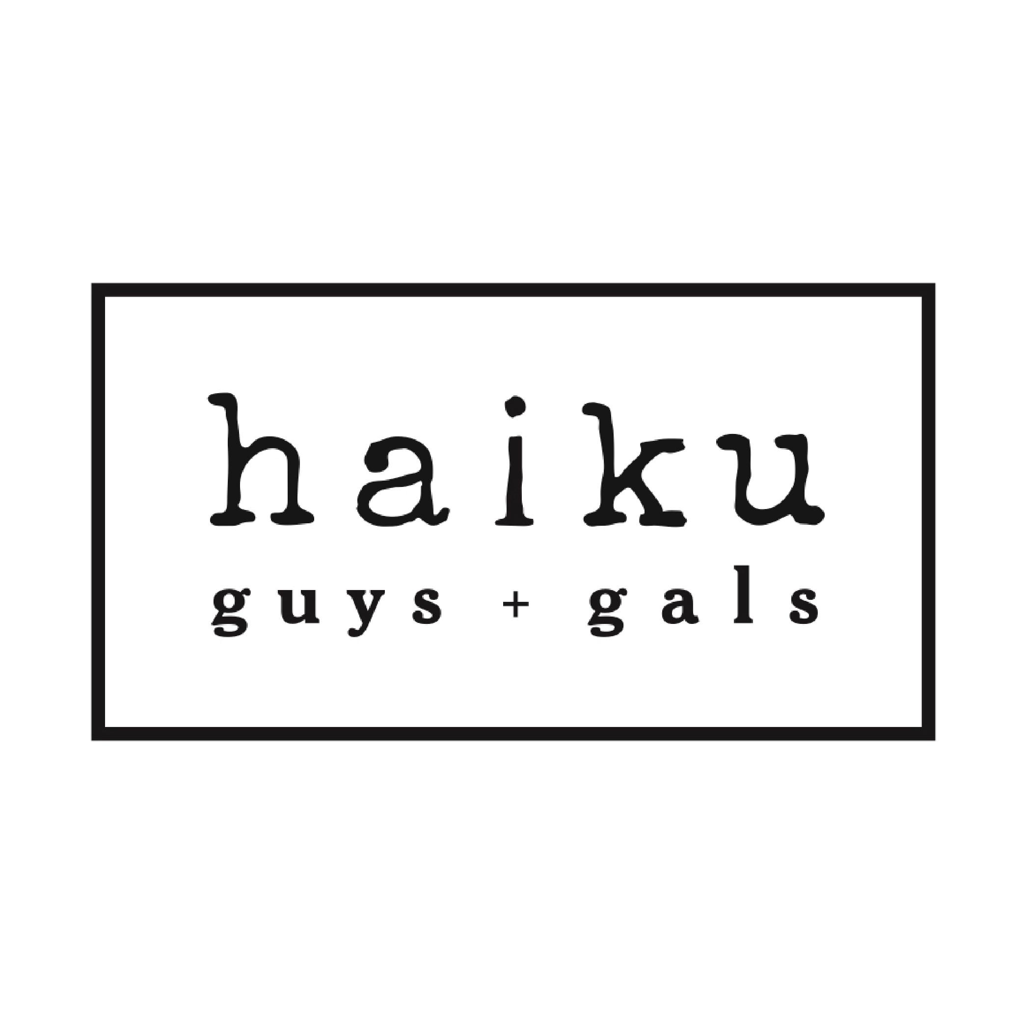 The Haiku Guys + Gals