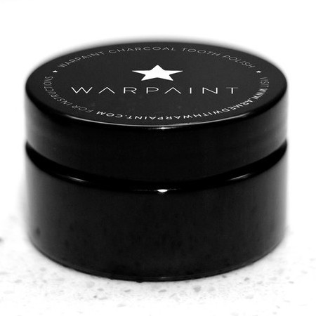 War Paint Teeth Whitener - This Charcoal Teeth Whitener by Warpaint is designed to whiten and clean your teeth. Crafted from Activated Coconut Shell Charcoal, Australian (edible) Calcium Bentonite Clay and Peppermint.
