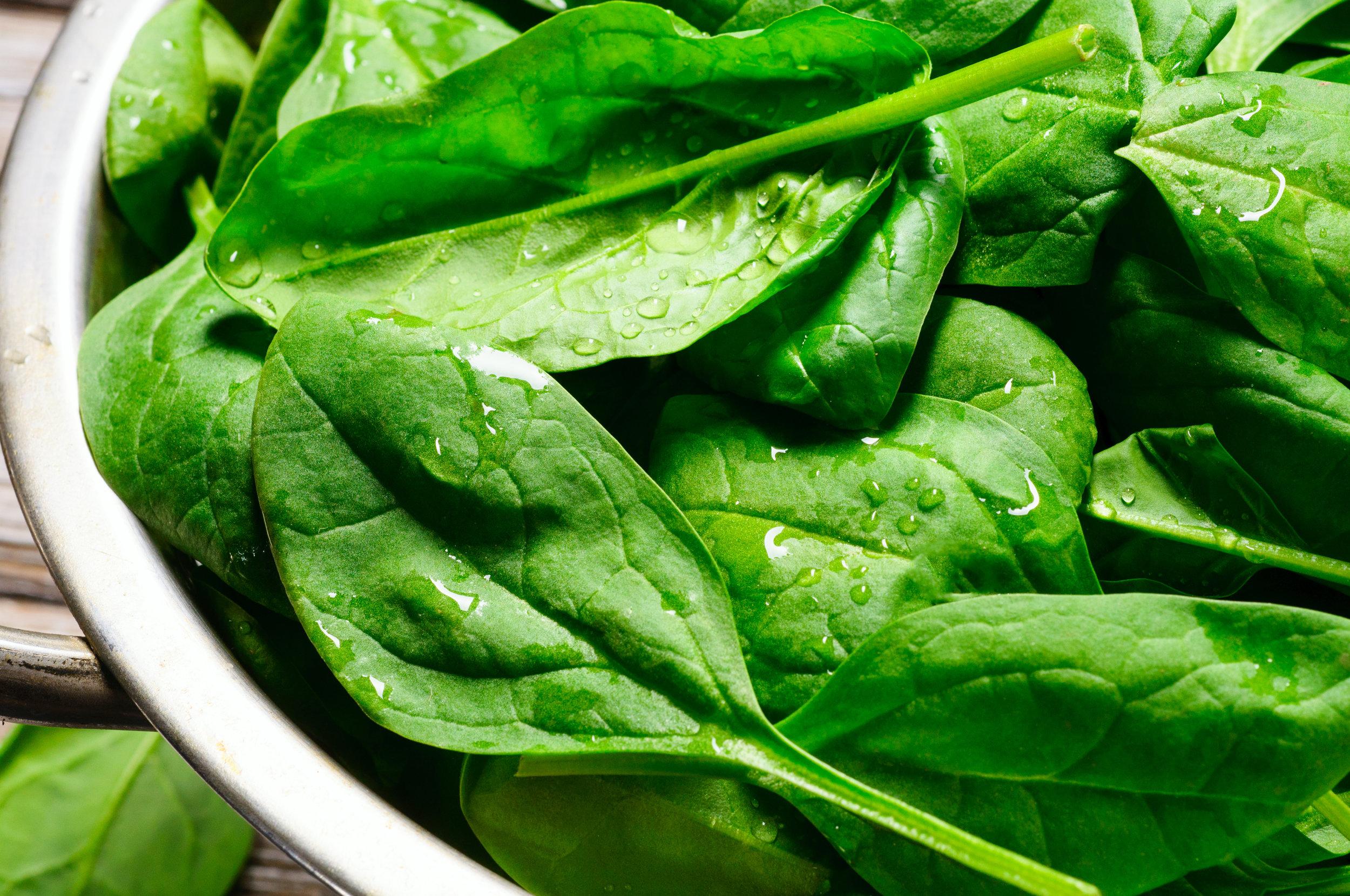Green Leafy Vegetables - Spiriluna, chlorella, alfalfa grass, kale leaf, wheat grass leaf, green tea leaf, barley grass, parsley, spinach leaf, dandelion leaf