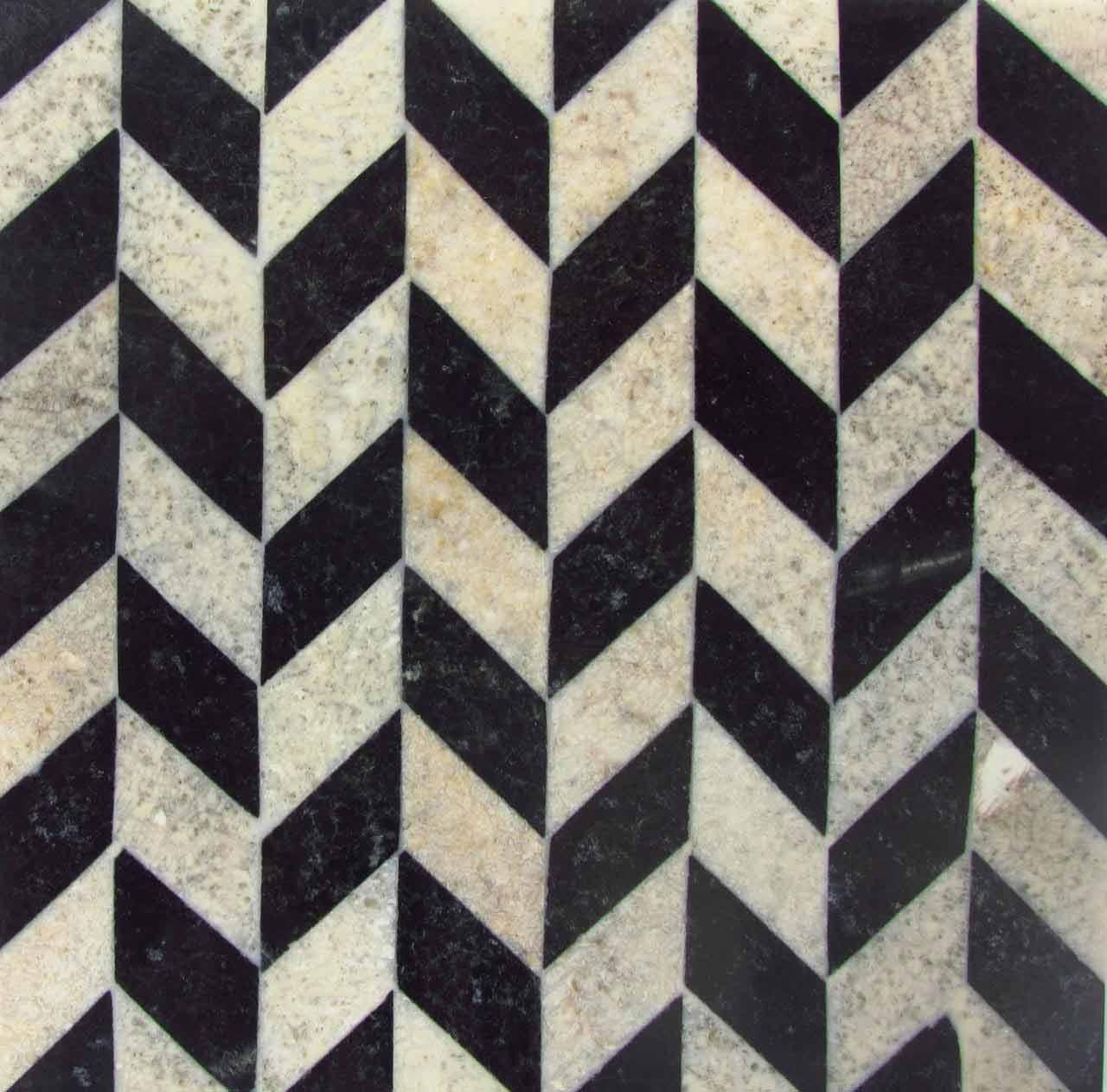 Chevron Stone Pattern