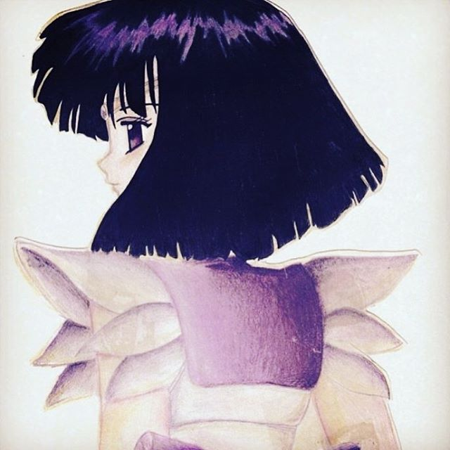 Time for an oldie... Sailor Saturn in coloured pencils. . . . . . #SailorSaturn #SailorMoon #PrettySoldierSailorMoon #HotaruTomoe #anime #manga  #illustration #drawing #sketch #design #art #artist #artwork #illustrator #draw #drawing #sketching #instaart  #myart #artoftheday #dailyart #doodle #doodlesofinstagram #artistsoninstagram prismacolor #prismacolorpencil