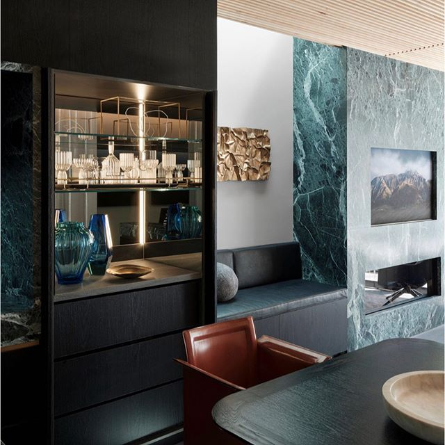 A shot of the bar area from our Glasshouse project featured in this months #bellemagazineau  Aug/Sep issue out now 📷 by @felix_forest  Styling by @joseph_gardner . . . .  #bellemagazineau #smartspaces #homestolove #smartdesign #homesweethome #paddington #luxuryinteriors #interiordesigner #architects #interiordecor #designlovers #interiordecoration #instadesign #interiorarchitecture #designdetails #archilover #interiorstyle #theglasshousepaddington #paddington #luxuryliving #ninamayainteriors #ninamayaprojects  Special Thank You to all our project partners @_zetr_ @_inlite_ @axolotlgroup @poliformaustralia @cerastone_tile_stone @designerrugs @coshliving @euromarble @ispacesolutions @winningappliances @escea_fireplaces @cdkstone @rogerseller @douglasandbec @unique_fabrics @lovelightblinds