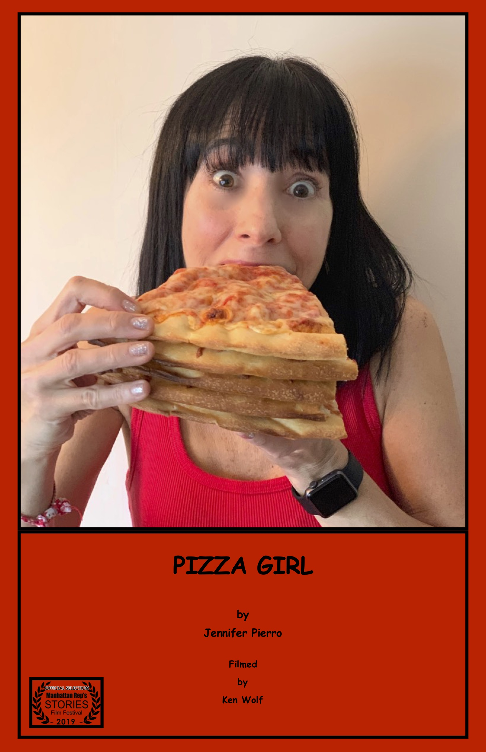 Pizza Girl Film Poster by Jennifer Pierro for my website jpeg.jpg