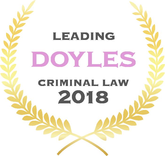 Doyles Leading Criminal Law 2018