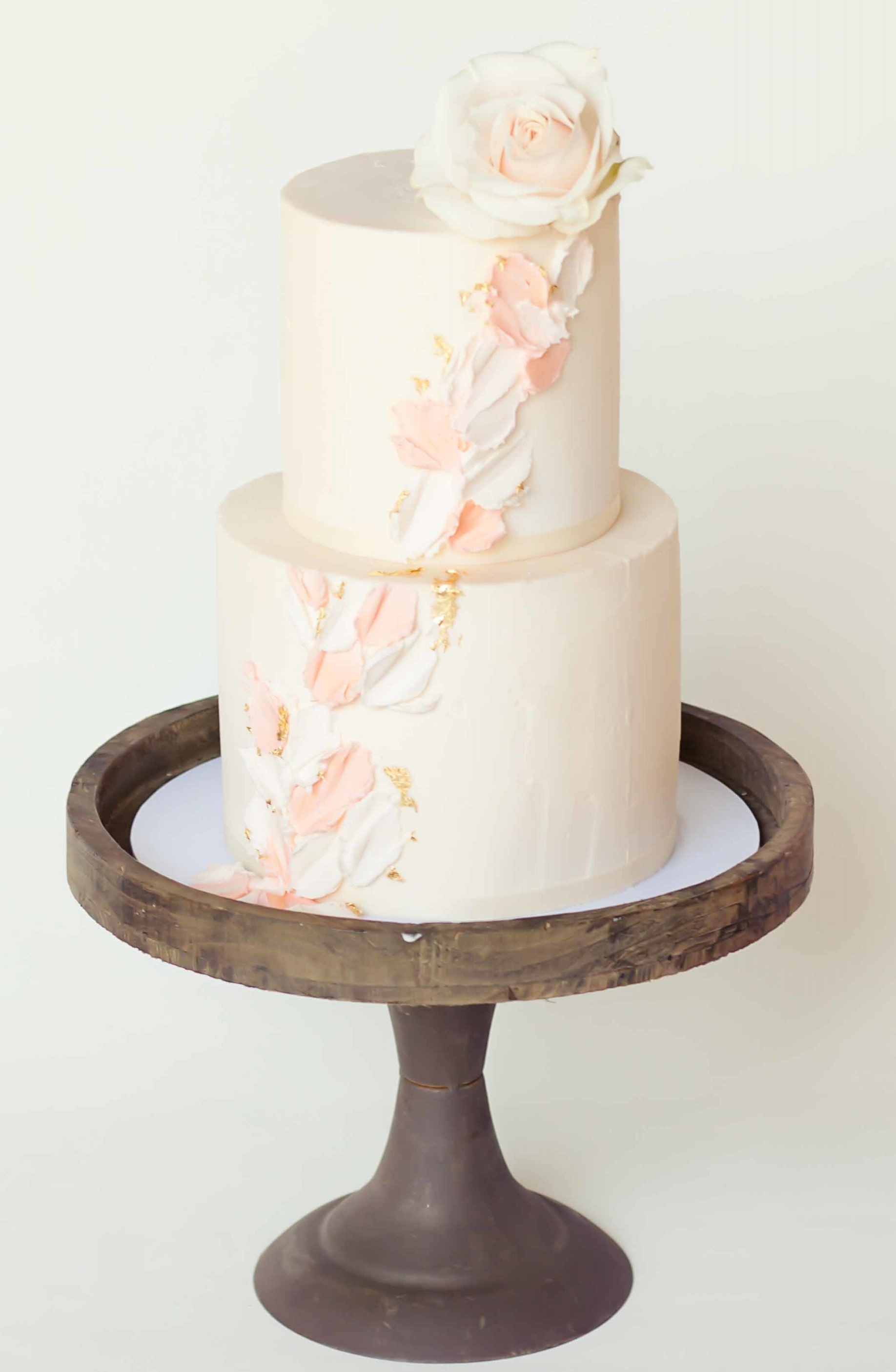 2 tier palette cake with rose.jpg