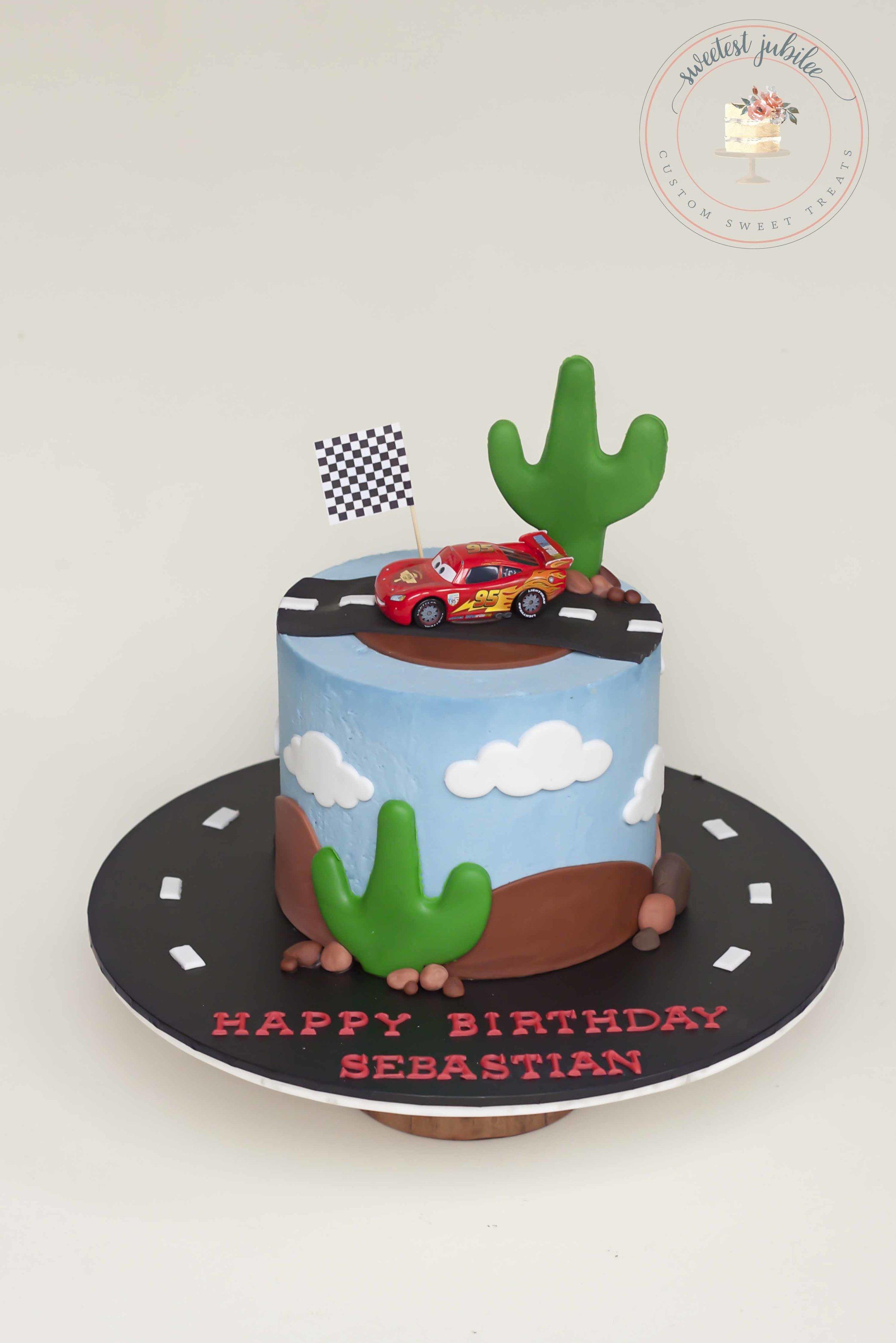 Sebastian cake - cars.jpg