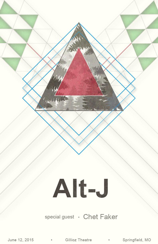 Poster design for concert