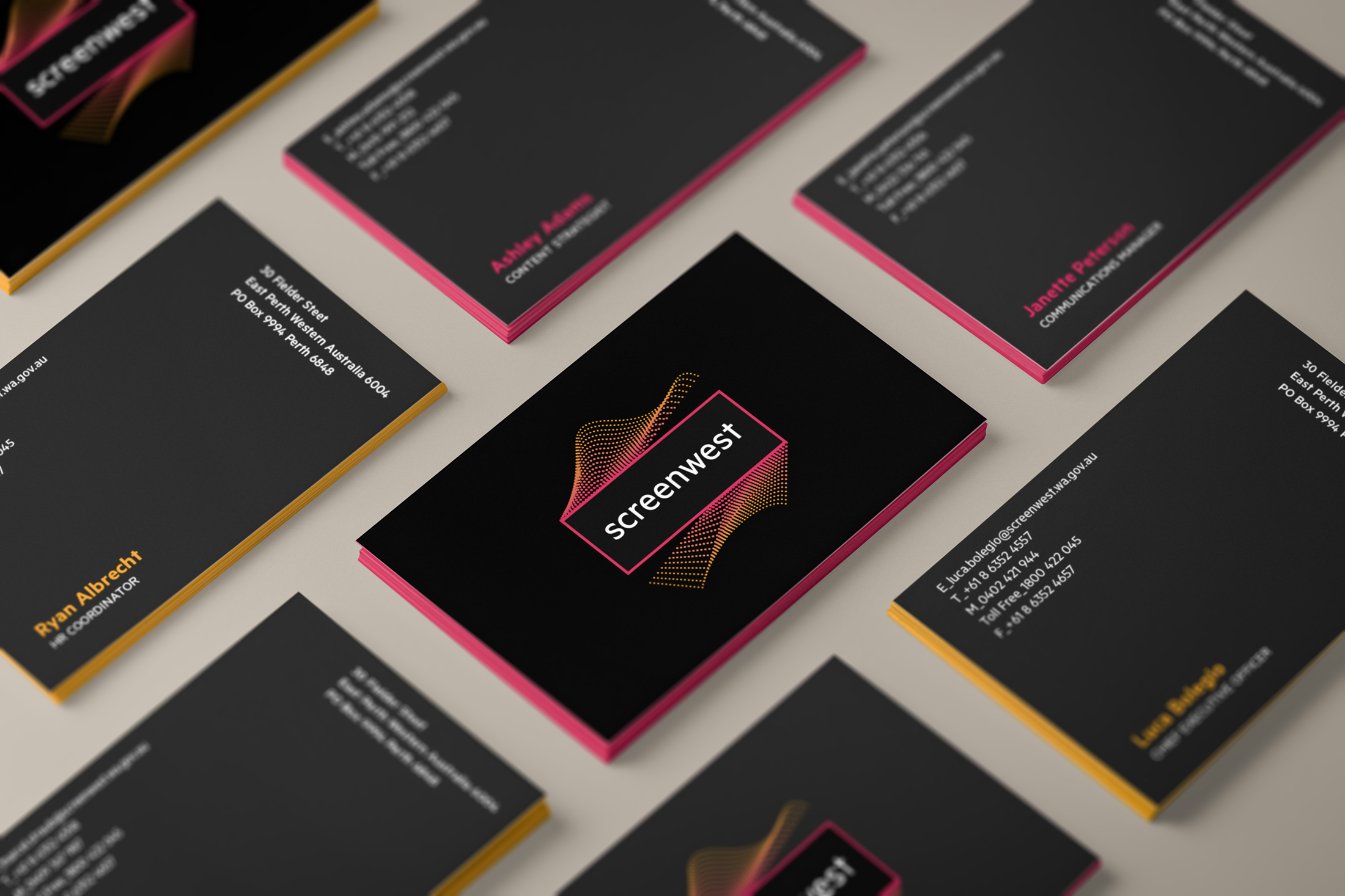 Screenwest – Business Cards