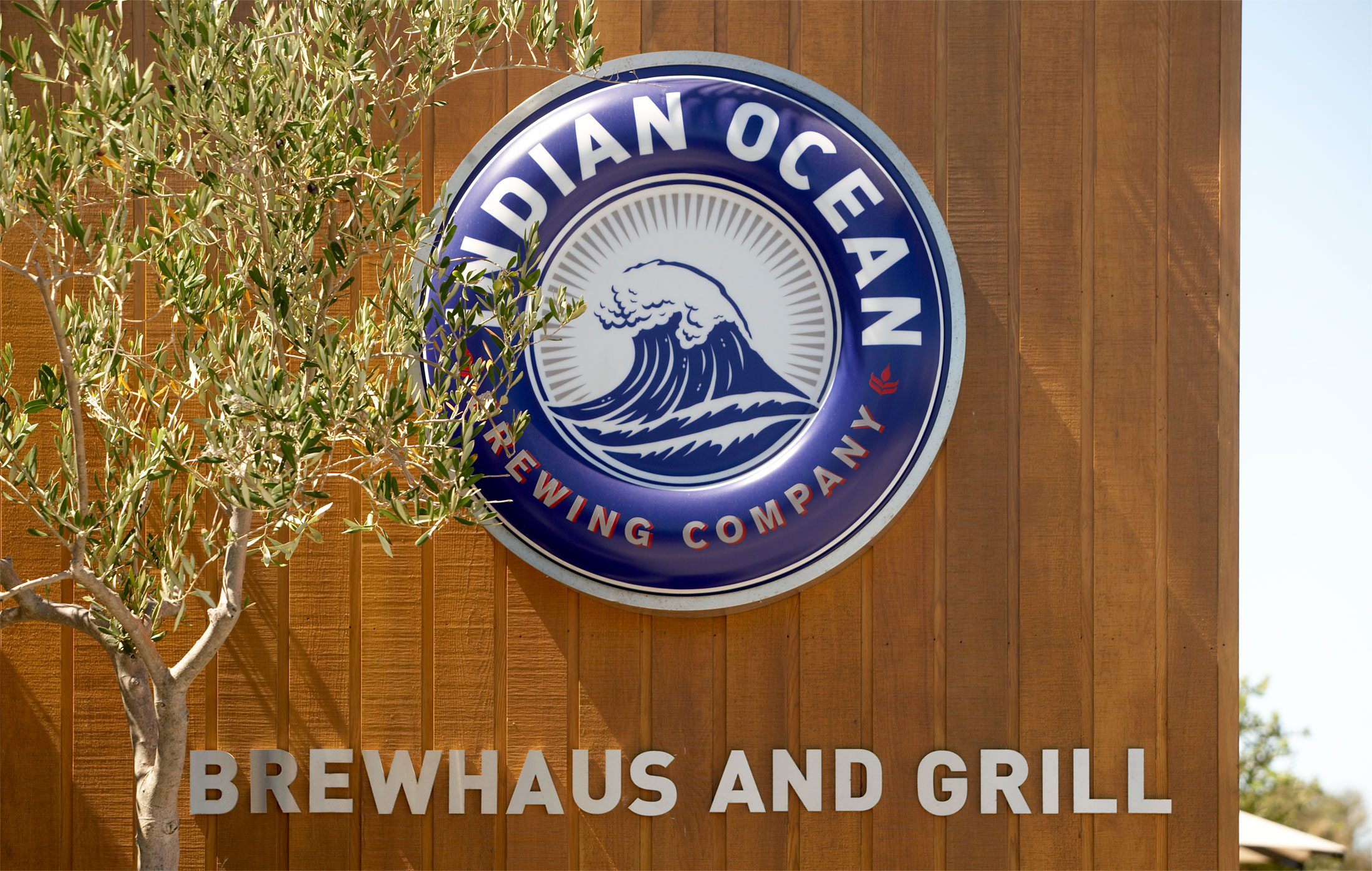 Indian Ocean Brewing Company – Brand Signage