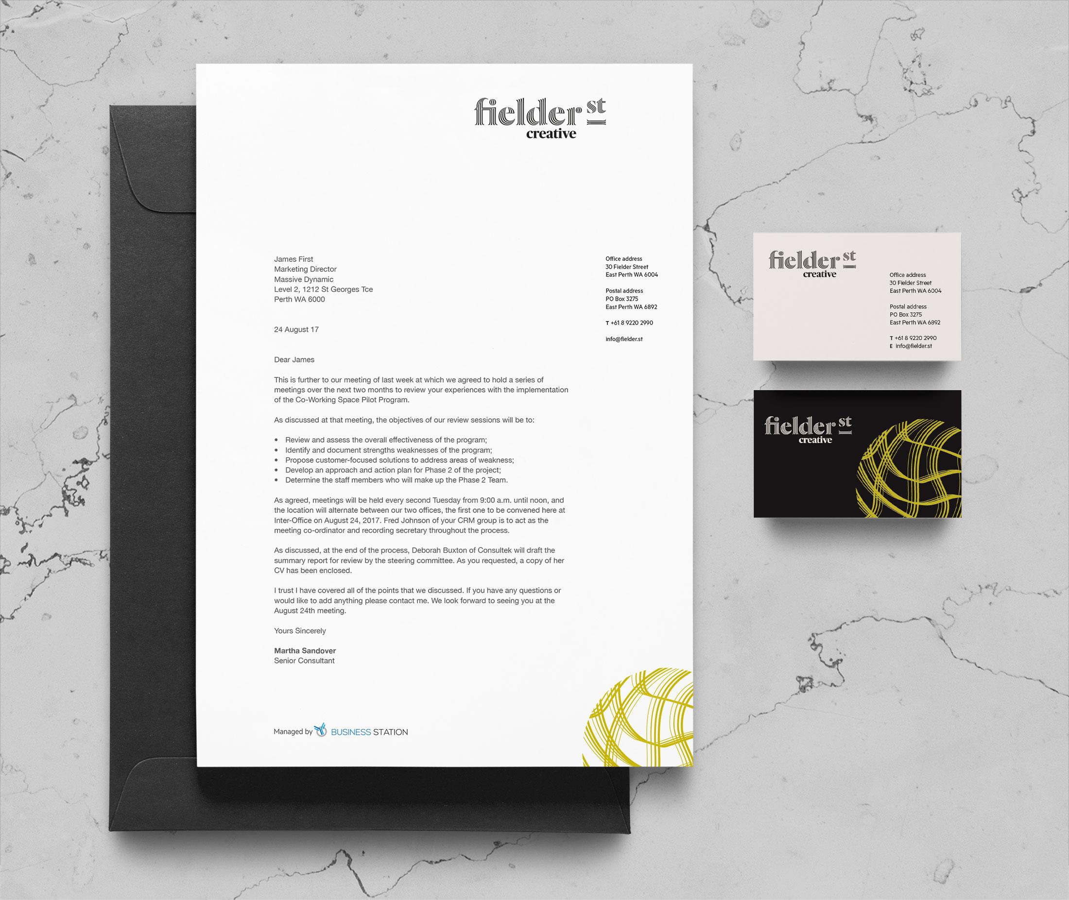 Fielder Street Creative – Stationery