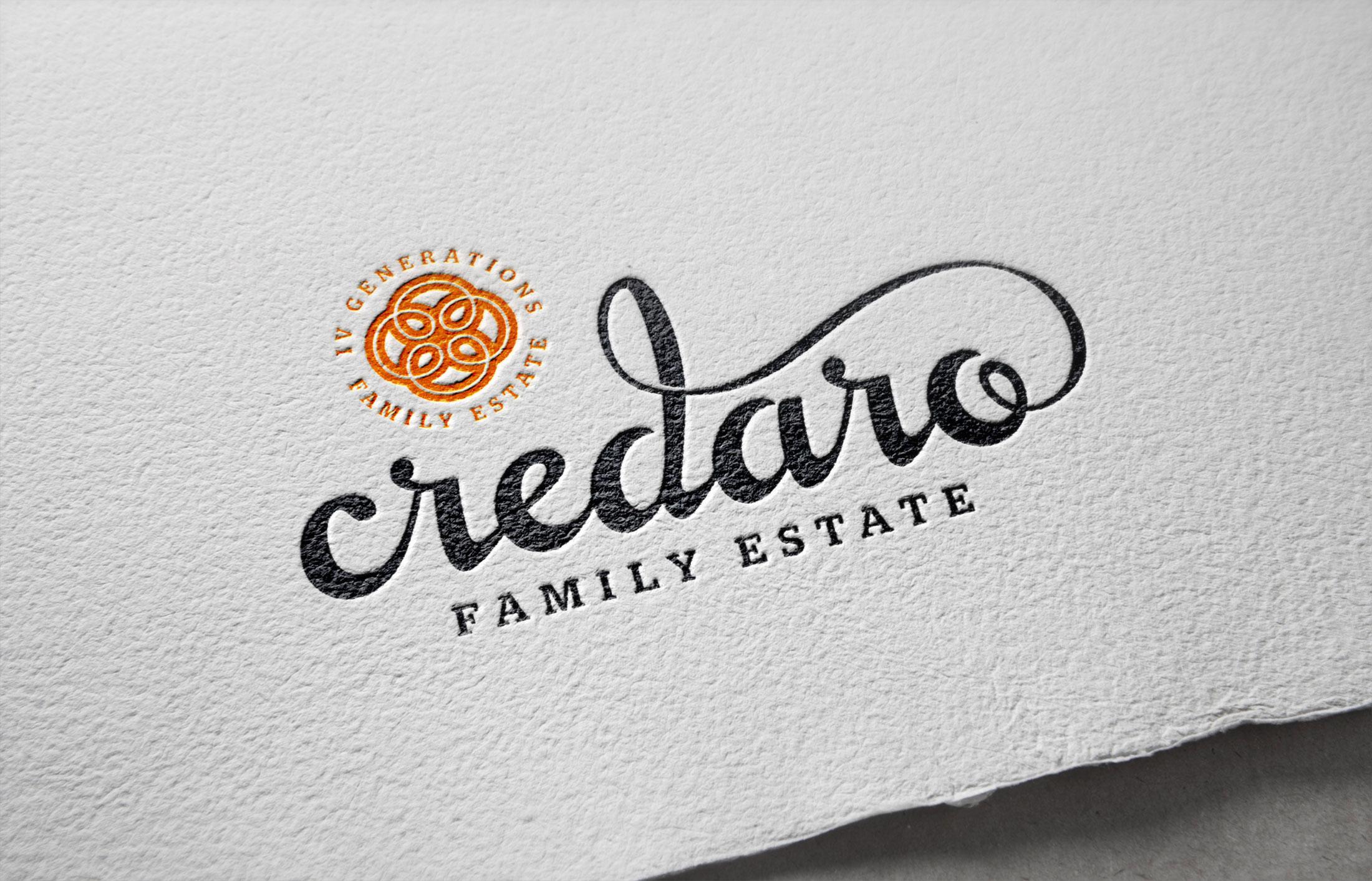 Credaro Family Estate – Brand