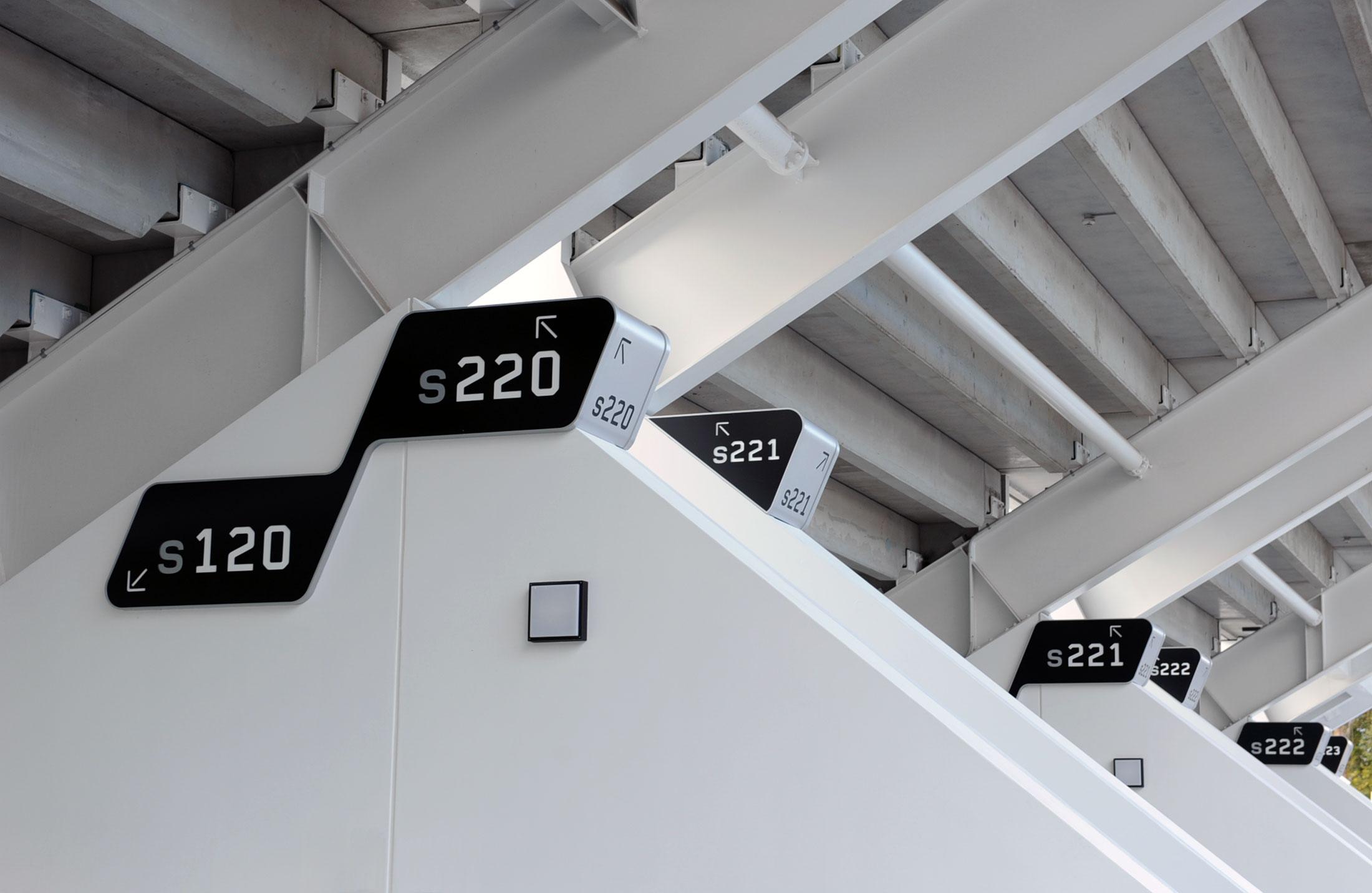 Perth Rectangular Stadium – Wayfinding Signage