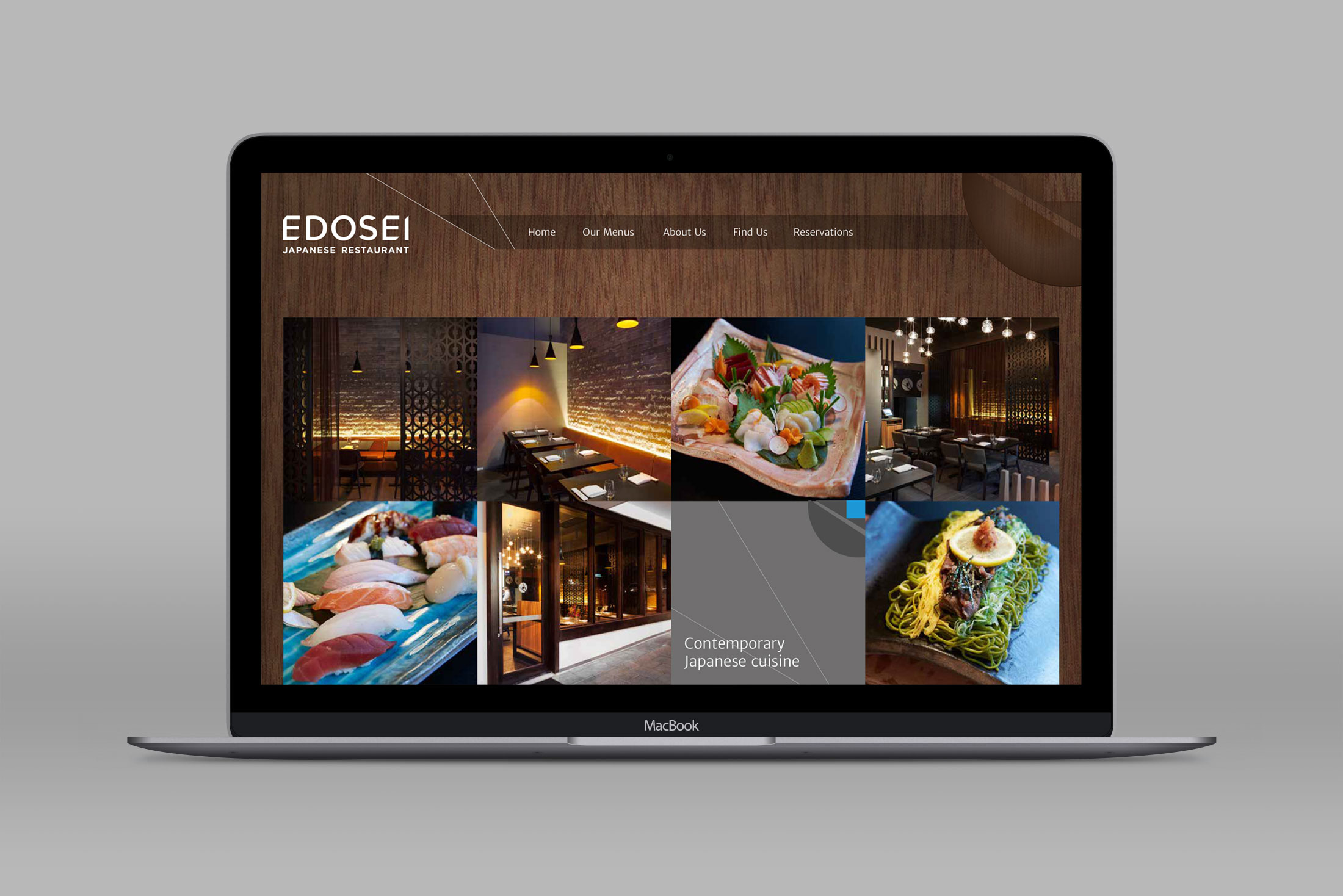 Edosei Japanese Restaurant – Website